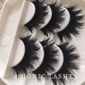 Other - ICONIC lashes + Eyelash Case